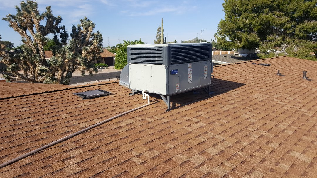 Sun City, AZ - Evaluation of Trane - American Standard air conditioning and heating system.