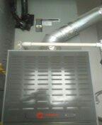 Surprise, AZ - Air conditioning maintenance on a Trane split system.