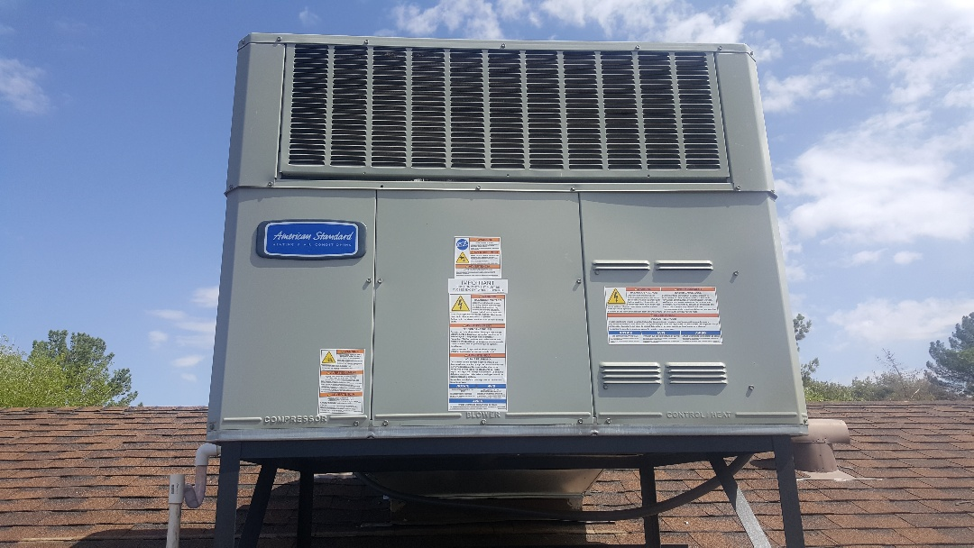 Youngtown, AZ - Quality control inspection on New American Standard (Trane) heat pump