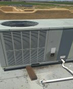 Buckeye, AZ - A/c maintenance on a package heat pump system. Just in time for summer.