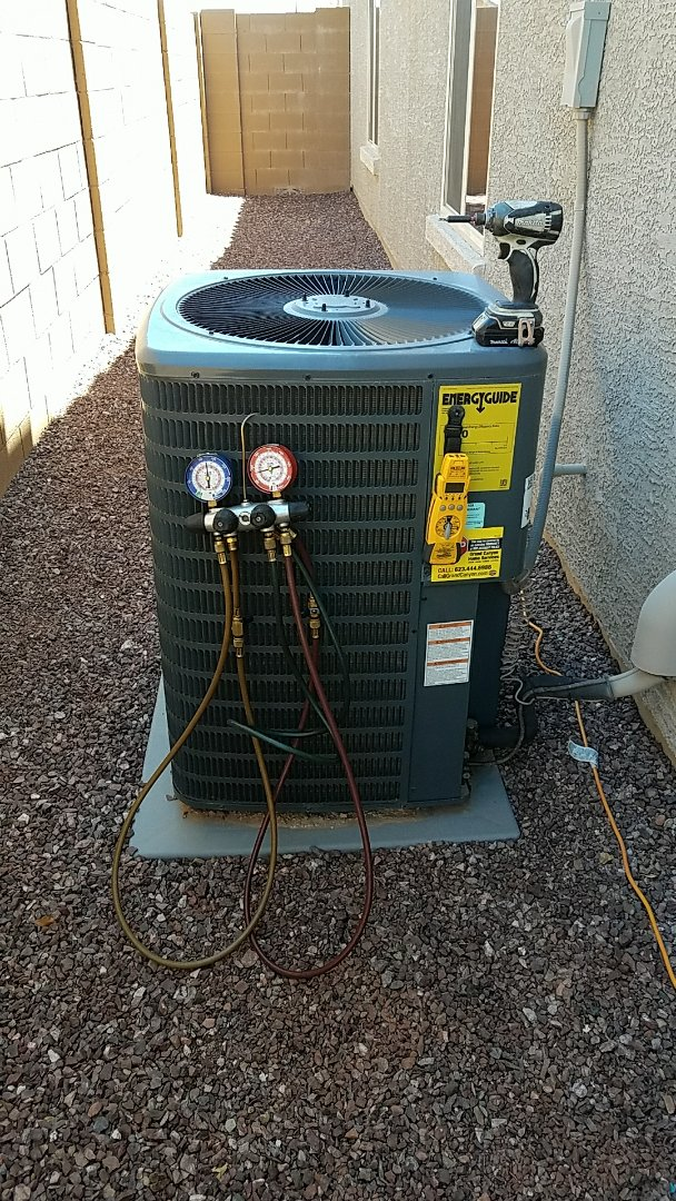 Peoria, AZ - Complete seasonal cooling maintenance.