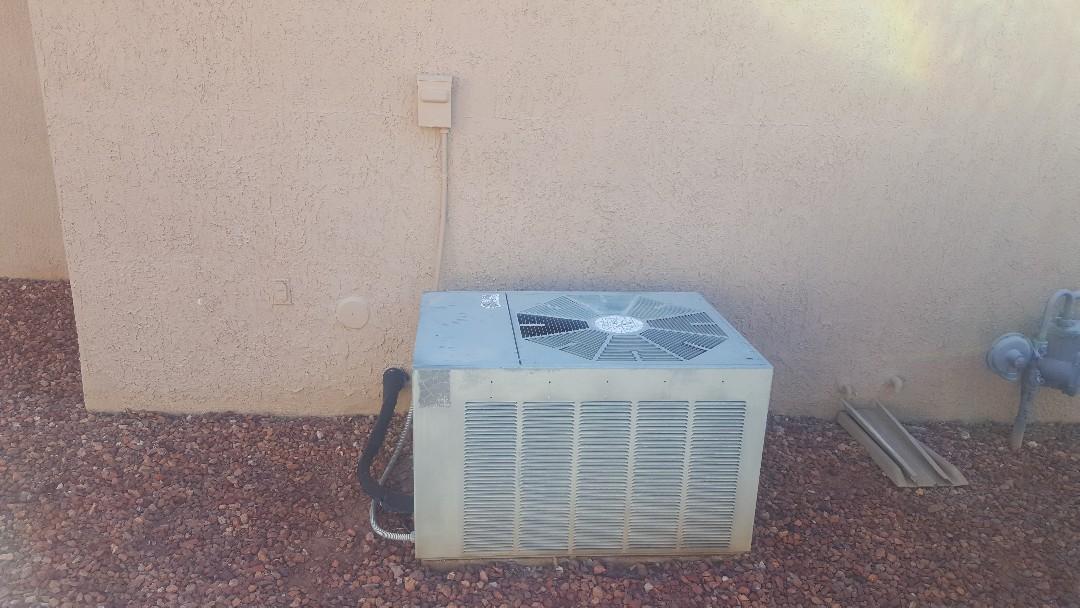 Sun City West, AZ - Estimate to replace Ruud air conditioner.