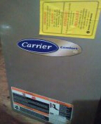Surprise, AZ - Air conditioning maintenance on two split systems.