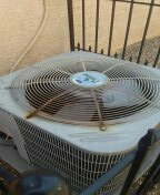Goodyear, AZ - Air Conditioning maintenance. On a split system furnace.