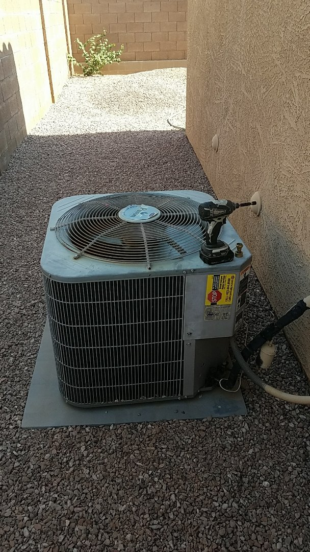 Surprise, AZ - Seasonal Cooling maintenance for repeat Grand Canyon Home Service Care Club Member.