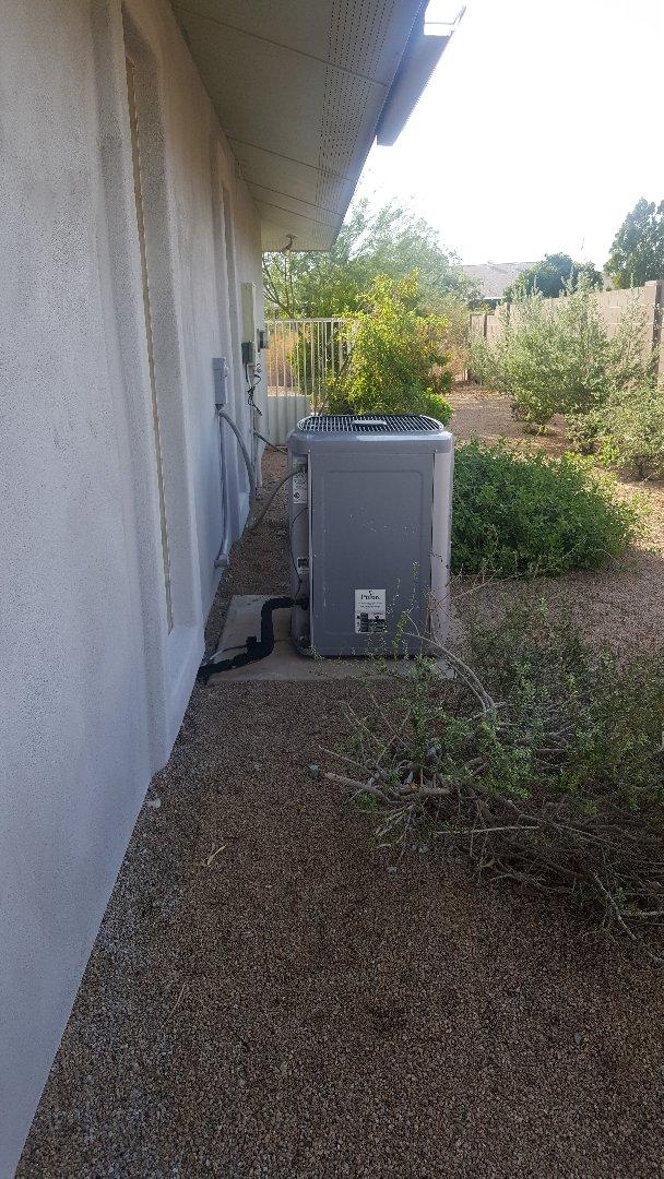 Sun City, AZ - Estimate for a new air conditioning system in Sun City AZ