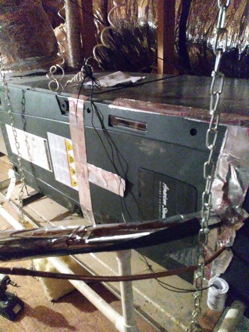Surprise, AZ - Quality control inspection on a new a/c unit
