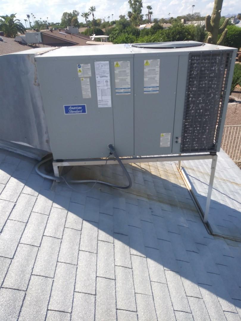 Sun City West, AZ - Fixing a leaking a/c unit
