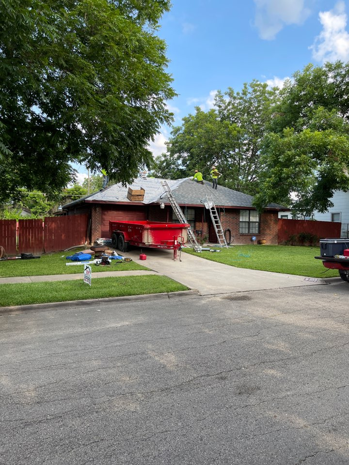 Temple, TX - Roof replacement