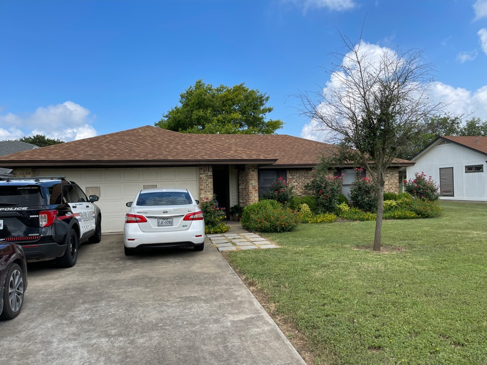Temple, TX - Performing Roof Inspection for hail Damage and Leaks
