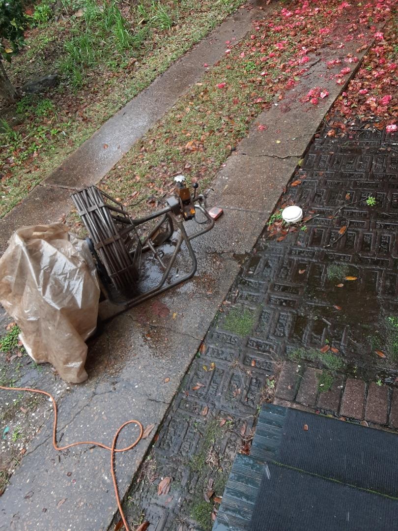 Mobile, AL - Sewer stoppage