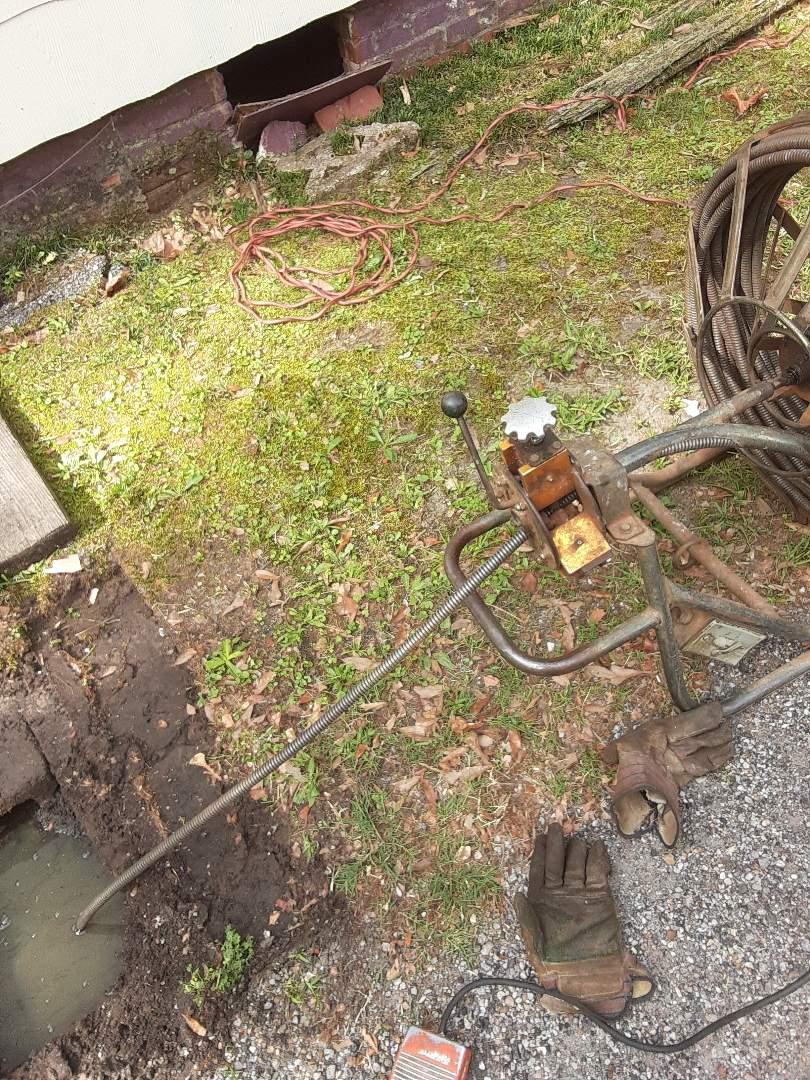 Prichard, AL - Sewer stoppage