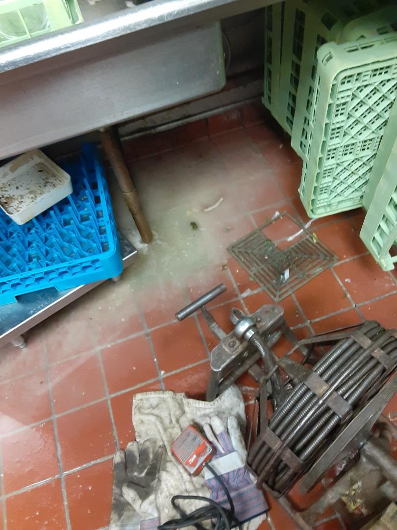 Mobile, AL - Floor drain stoppage