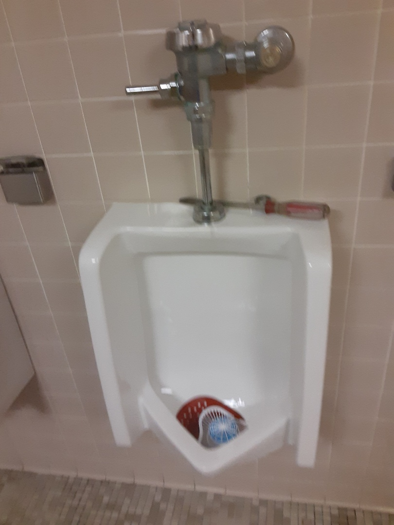 Mobile, AL - Plumbing services on urinal Leaks in men's room in Mobile Ala