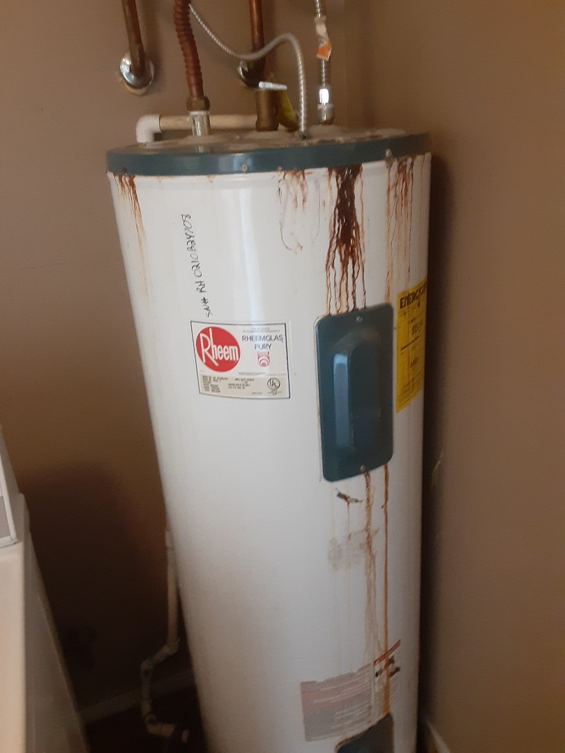 Saraland, AL - Plumbing services on hot water Heater Replaced and outside Faucet Leaks in saarland Ala