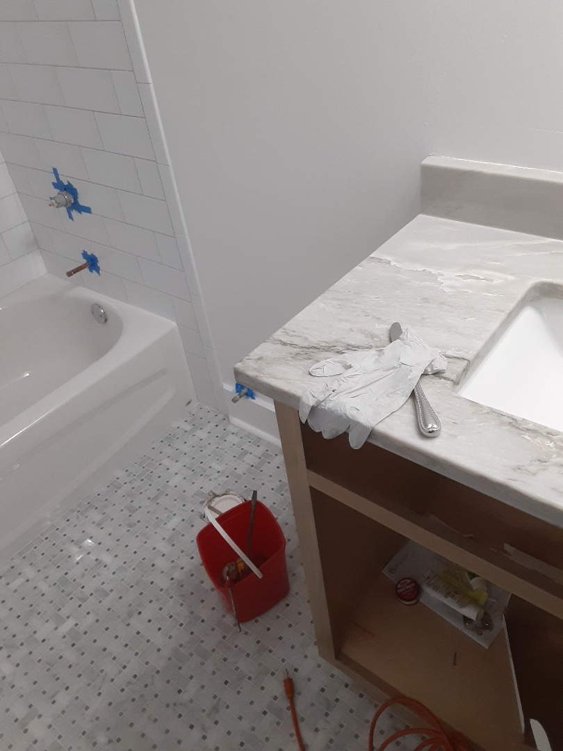 Satsuma, AL - Plumbing services on toilet tub Faucet sink Faucet and drain in Mobile Ala