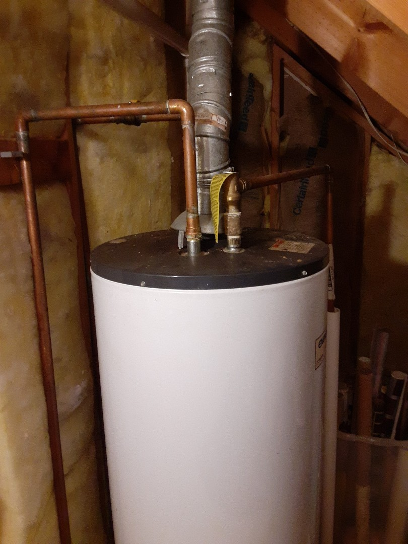 Saraland, AL - Plumbing service on water heater replacement in saraland Ala