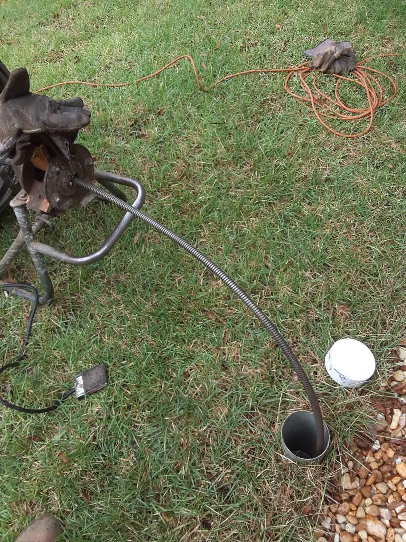 Mobile, AL - Plumbing service on sewage stoppage in Mobile Ala