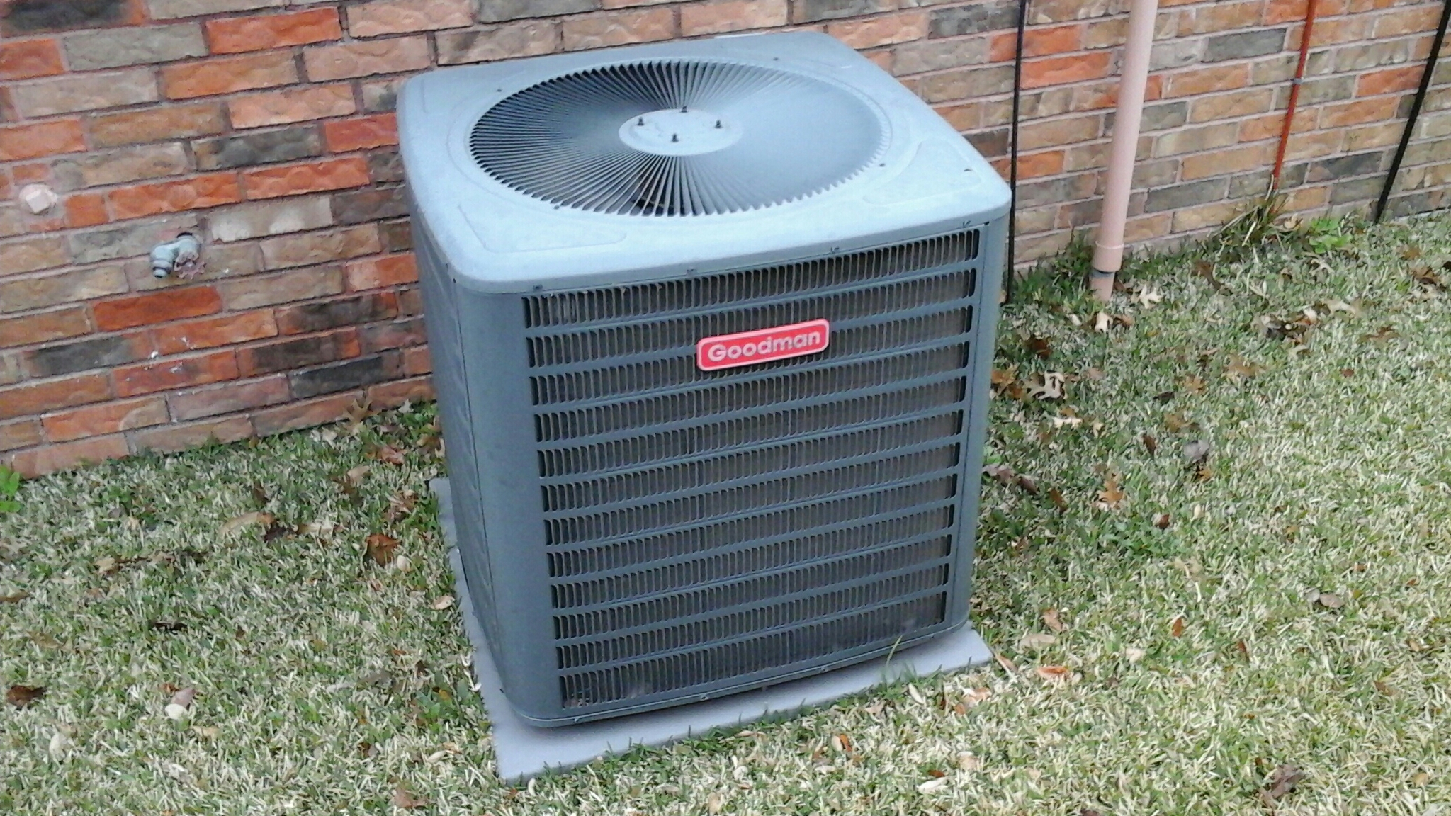 Carrollton, TX - Performed maintenance on a goodman heater and ac unit. Cleaned coils.