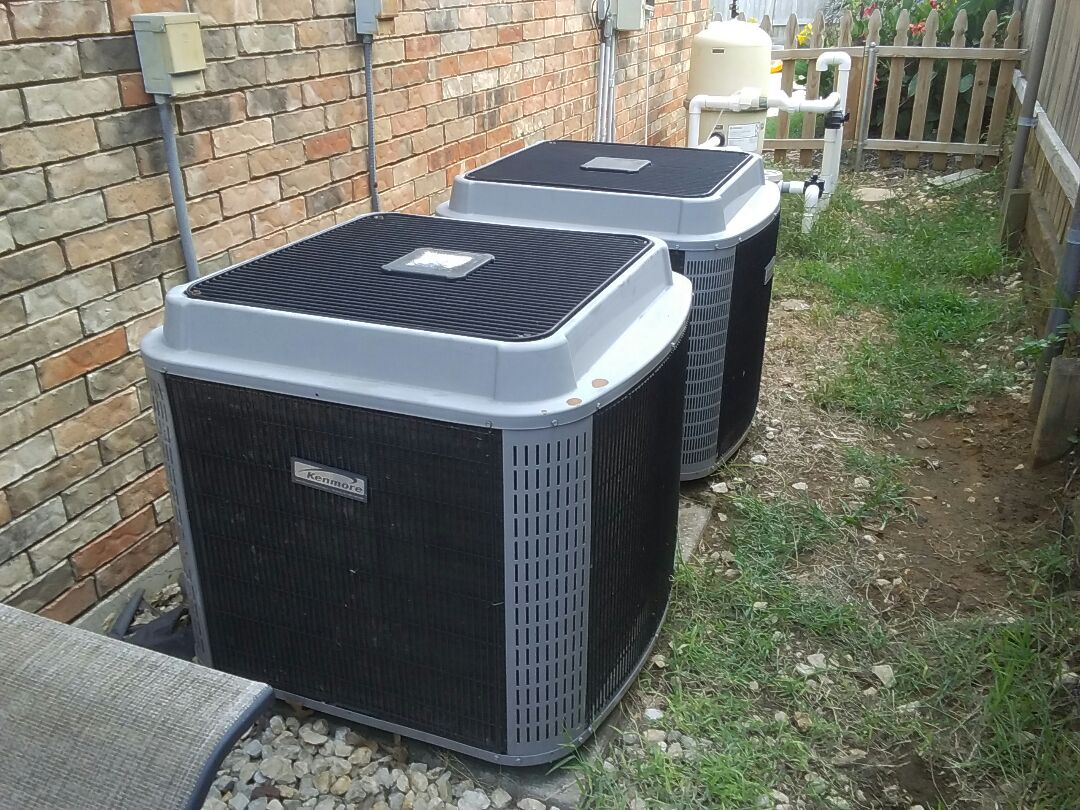 Grapevine, TX - Inspection on a Kenmore air conditioner