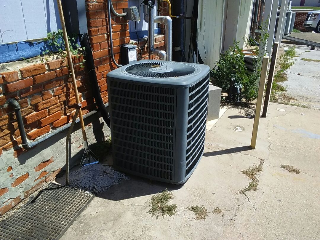 Lewisville, TX - Drain clear on Goodman air conditioner