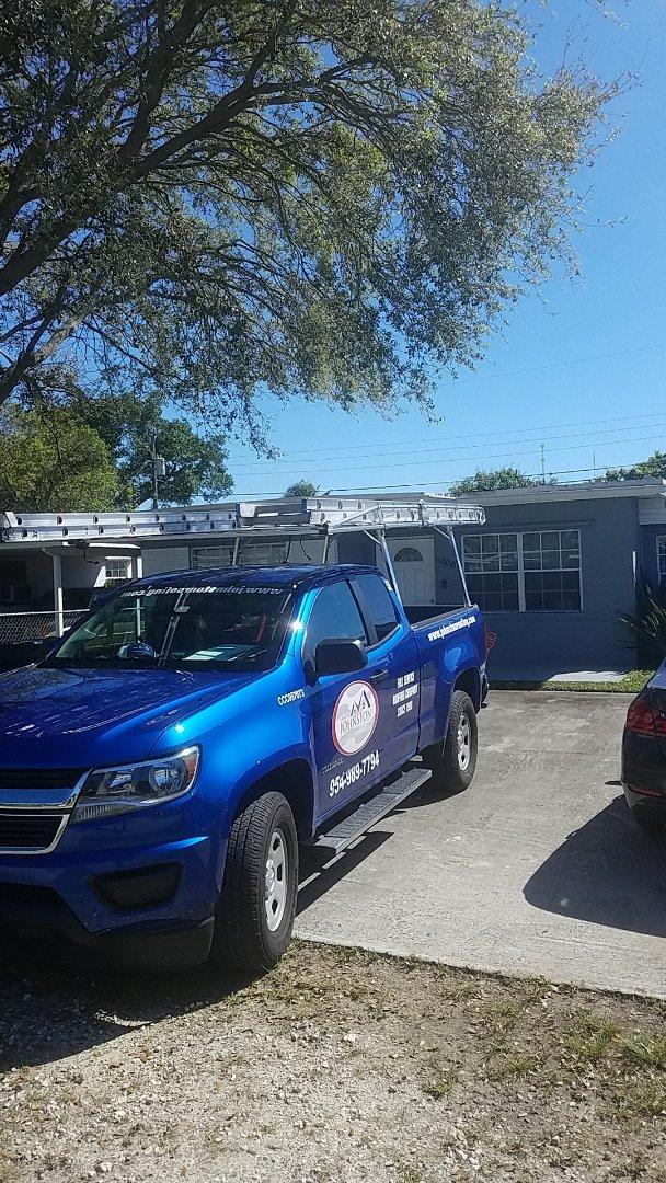 Miramar, FL - Flat roof  leak repair estimate by Earl Johnston Roofing Company