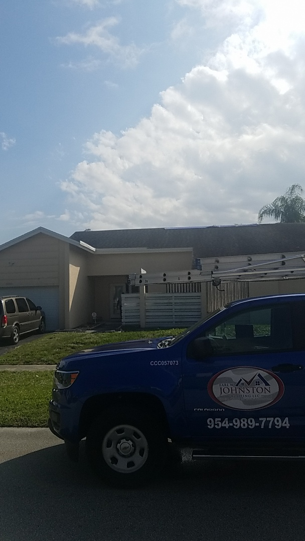 Lauderhill, FL - GAF timberline HD shingles reroof estimate by Earl Johnston Roofing Company