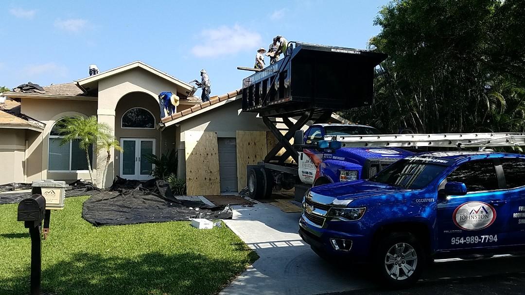 Davie, FL - Tile re-roof in Davie