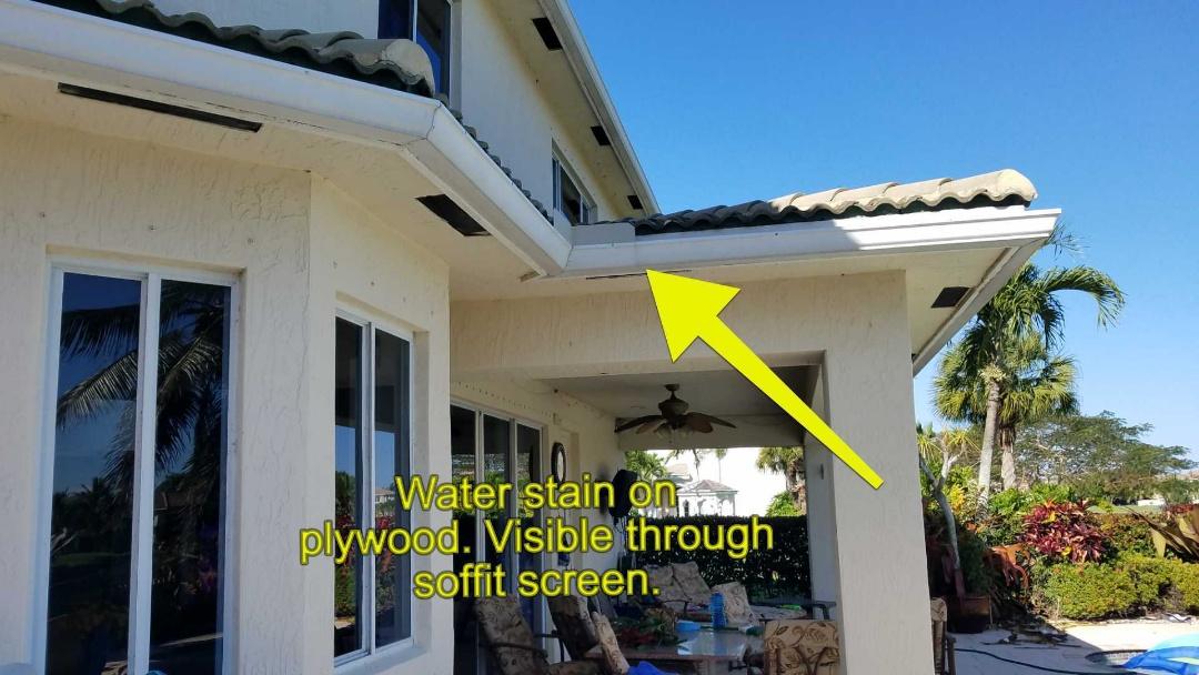 Fort Lauderdale, FL - Tile roof repair estimate in Pembroke Pines Florida