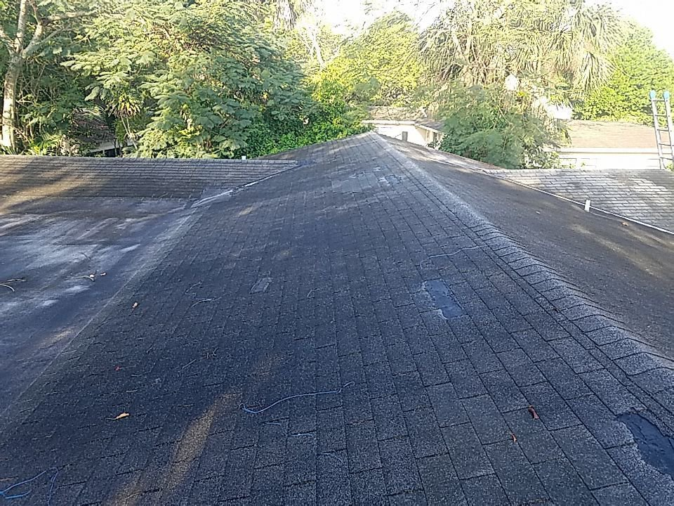 Fort Lauderdale, FL - Gaf Timberline hd shingle and flat re-roof estimate in Plantation, FL