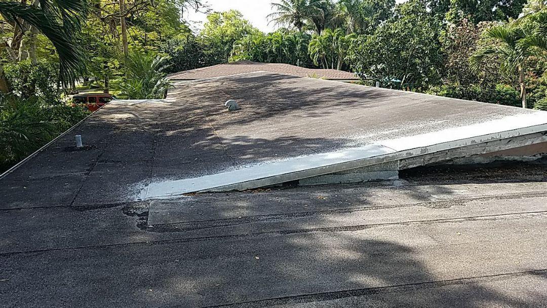 Plantation, FL - Gaf low slope flat re-roof estimate in Plantation, FL Master Elite Roofing contractor