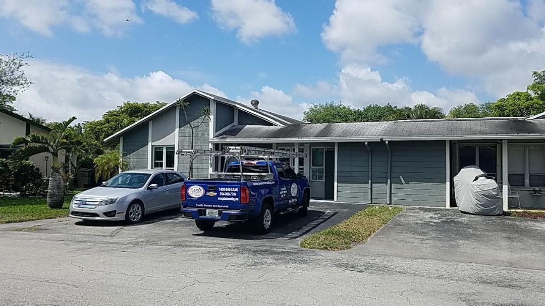 Davie, FL - Gaf Timberline hd shingle re-roof estimate in Davie FL