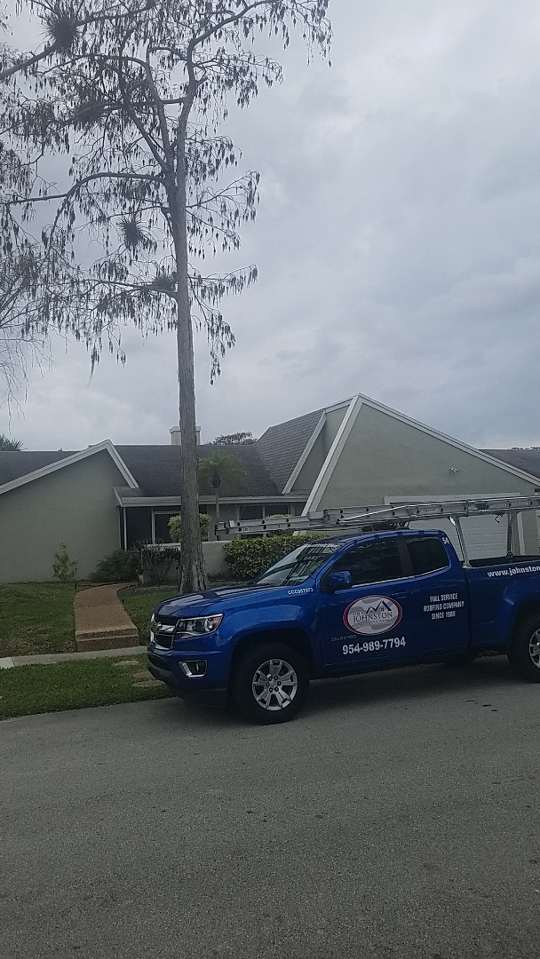 Lauderhill, FL - GAF timberline HD shingles reroof estimate by Earl Johnston Roofing Company