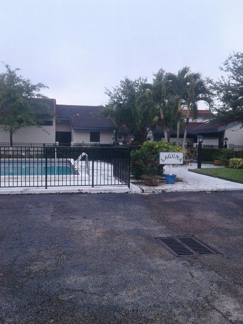 Plantation, FL - Roof repair in the city of Plantation Florida this repair is being done by Earl W Johnston roofing company Tony is a supervisor in charge