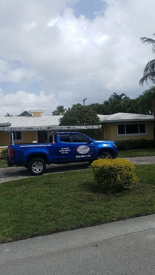 Pompano Beach, FL - Tile roof leak repair estimate by Aj from Earl Johnston Roofing Company
