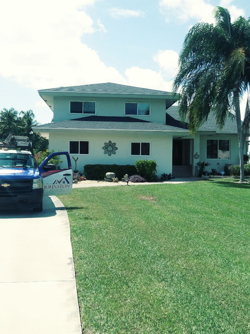 Davie, FL - Finished gaf timberline shingle roof by earl w Johnston roofing llc