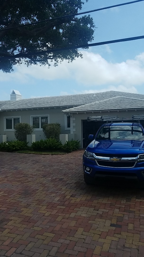 Miami Shores, FL - Boral Bermuda tile roof replacement estimate by Aj from Earl Johnston Roofing Company