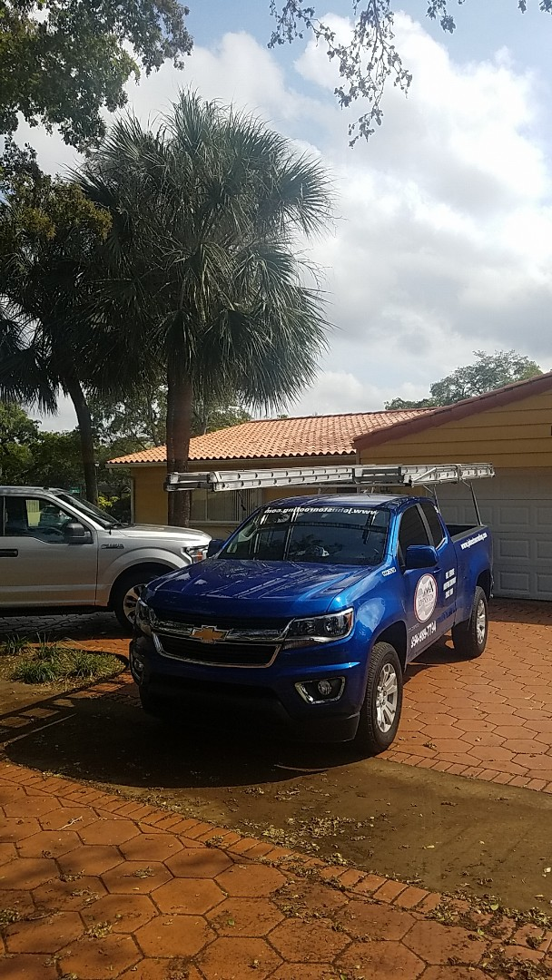 Hialeah, FL - Tile roof leak repair estimate by Aj from Earl Johnston Roofing Company