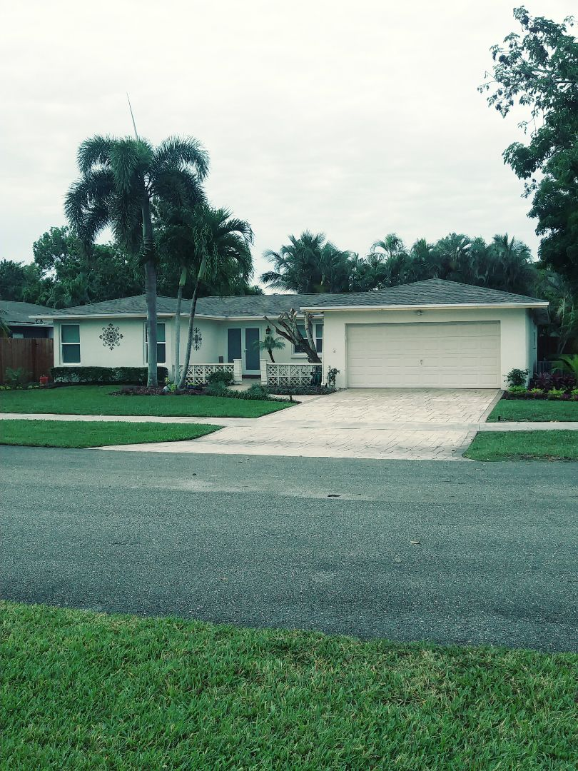 Davie, FL - Finished gaf timberline shingle and flat roof by earl w Johnston roofing llc
