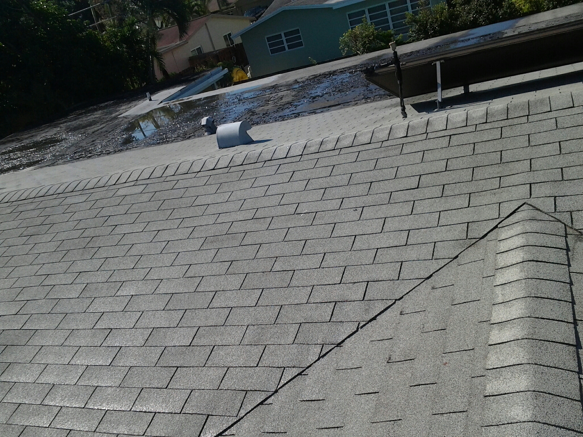 Cooper City, FL - Roof restore snd clean roof