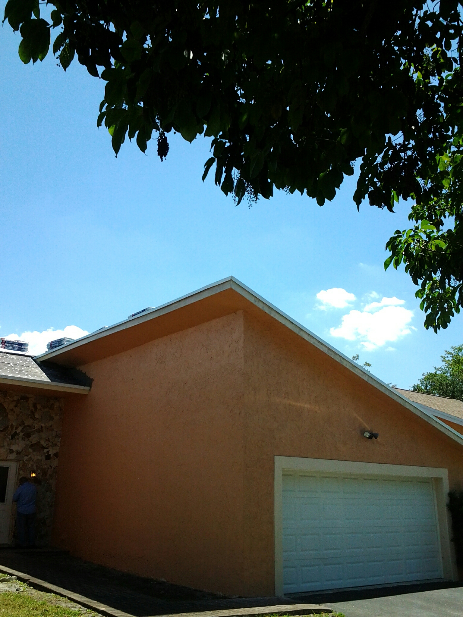 Tamarac, FL - Stucco work on roof