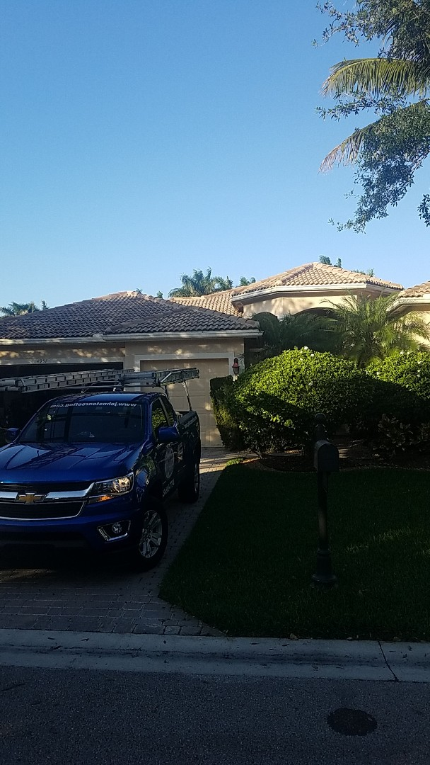 Tamarac, FL - Eagle Malibu tile reroof estimate by Aj from Earl Johnston Roofing Company