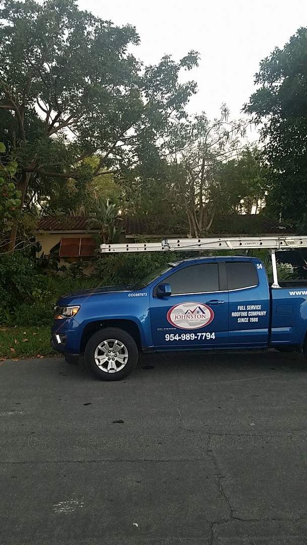 Pompano Beach, FL - Eagle Malibu tile reroof estimate by Aj from Earl Johnston Roofing Company