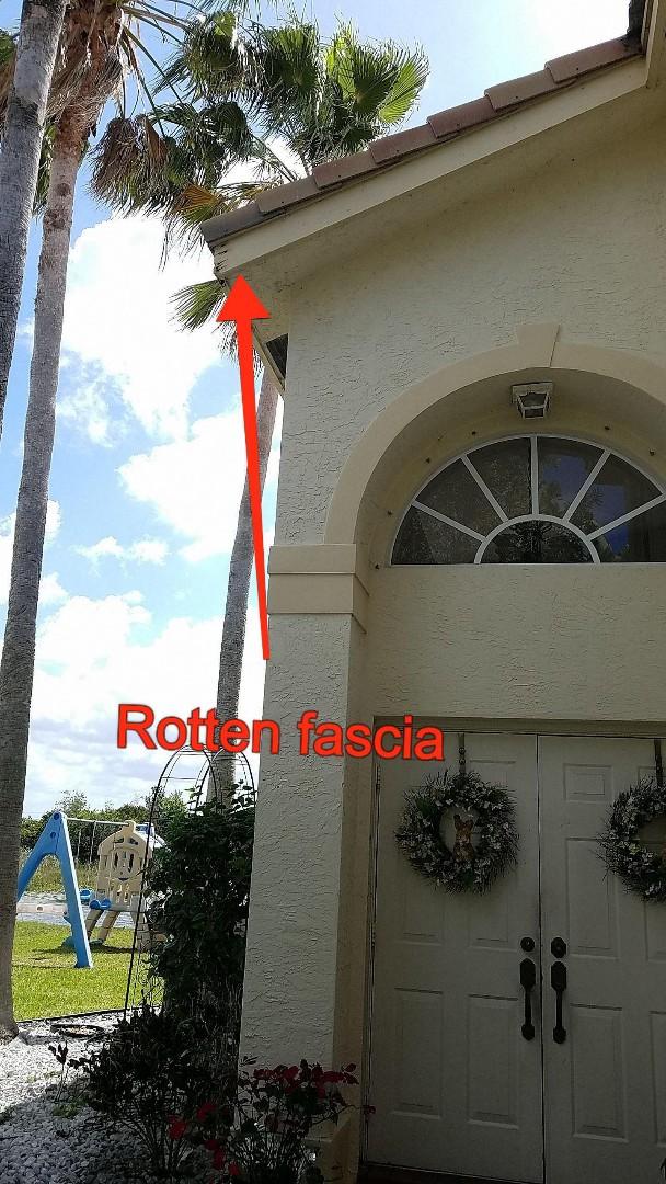 Miramar, FL - Tile roof repair estimate in MIRAMAR,FL