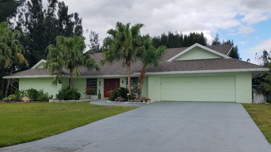 Davie, FL - Shingle roof repair estimate in Davie FL