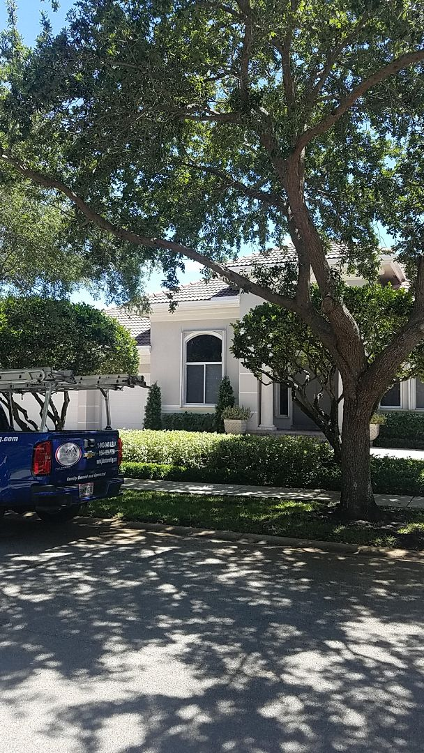 Fort Lauderdale, FL - Eagle Malibu tile reroof estimate by Aj from Earl Johnston Roofing Company