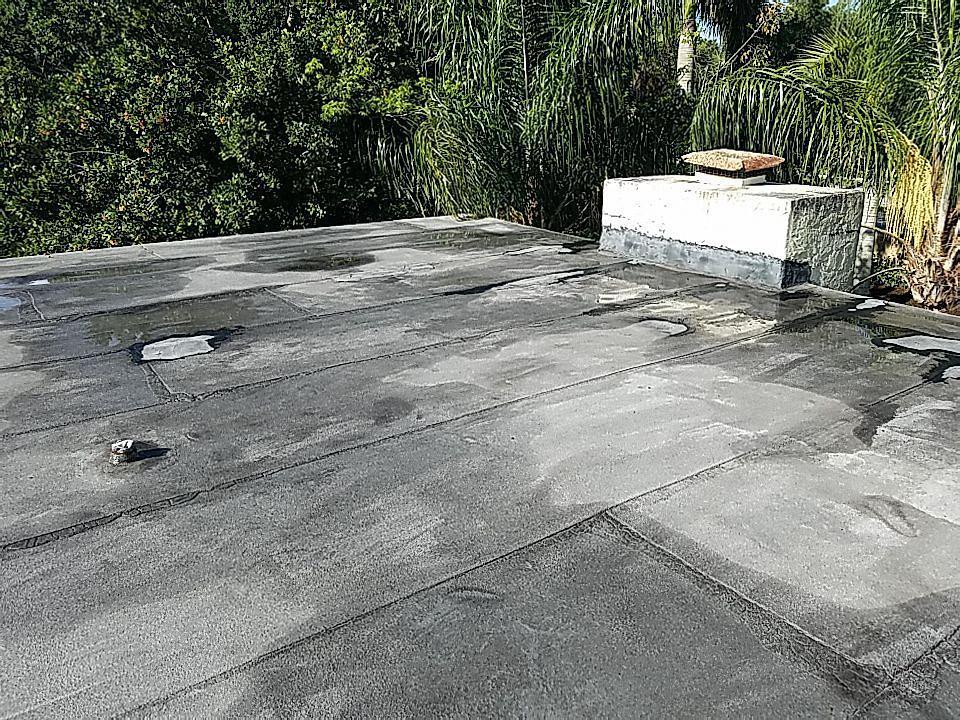Plantation, FL - Flat re-roof estimate in Plantation, FL