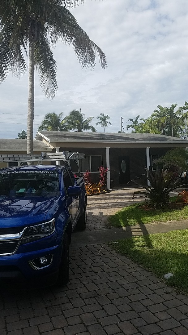 Hollywood, FL - GAF timberline HD shingles reroof replacement estimate by Aj from Earl Johnston Roofing Company