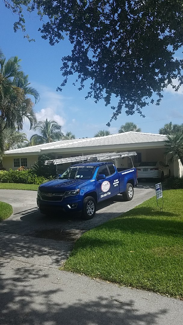 Lighthouse Point, FL - Tile roof repair estimate by Aj from Earl Johnston Roofing Company