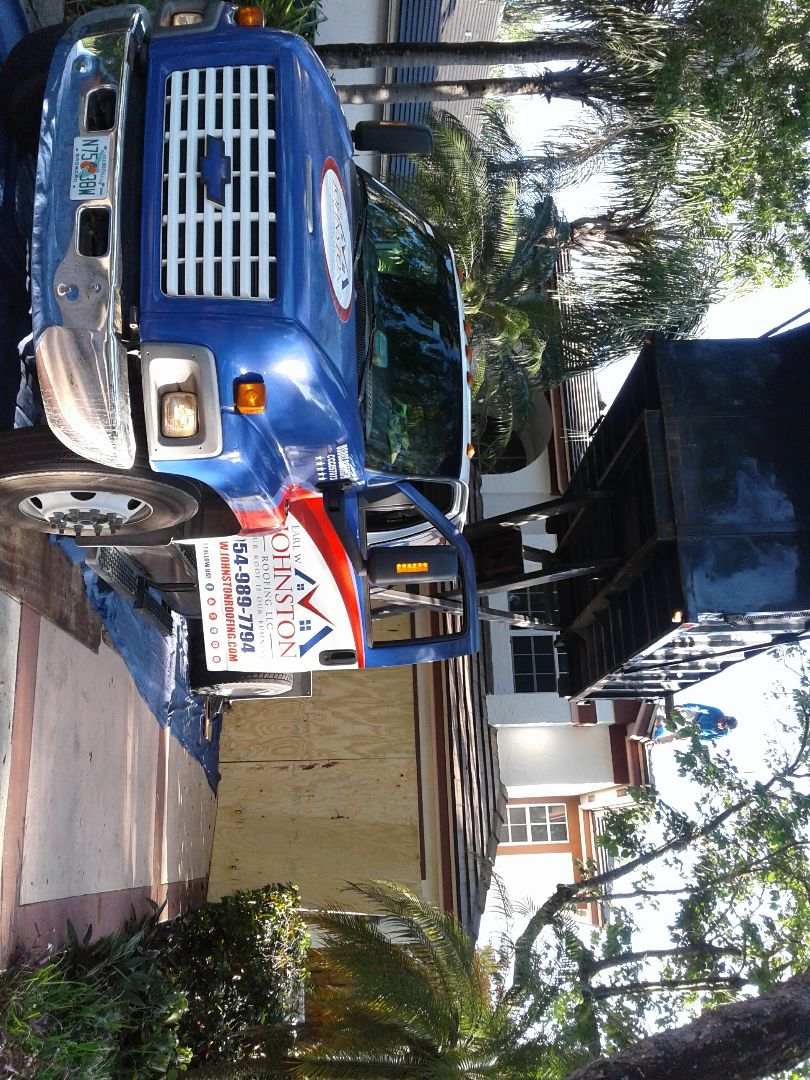 Hollywood, FL - Starting a26sq tile reroof in Cooper city, by Earl w Johnston roofing